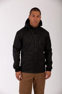 Image of LONG RANGE PATROL JACKET MK IV- VOID BLACK