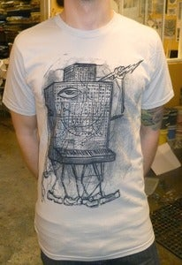 Image of Moog Monster Silver Tee