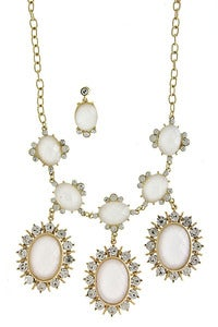 Image of Jewel Burst Trio Necklace