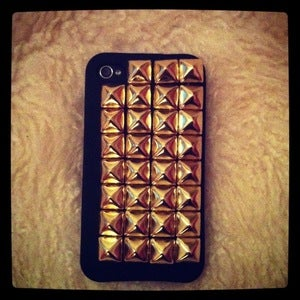 Image of Full Gold Studded iPhone 4/4s/5 Cover