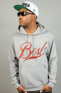 Image of Best Davis Hoodie Grey
