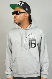Image of Chiefs Hoodie Grey