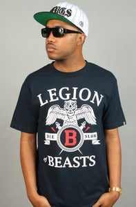 Image of Legion of Beasts Tee Navy