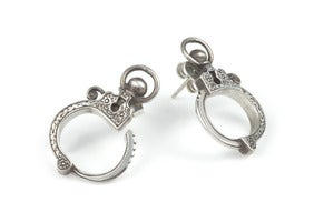 Image of Mini Handcuff Earrings