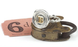 Image of Mini Personalised Wax Seal Ring without top