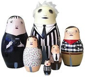 Image of Beetlejuice Nesting Doll Set