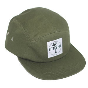 Image of 5 PANNEL CAP | ARMY GREEN