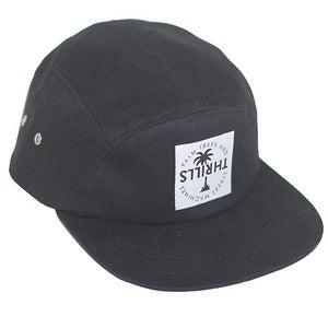 Image of 5 PANEL CAP | BLACK