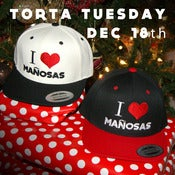 "Image of ""I Love Manosas"" SNAPBACK"
