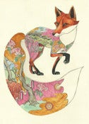 Red Fox - Card