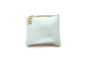 Four Inch Pouch - Mint