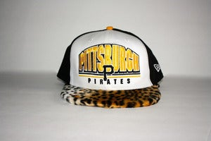 Image of Pirates Cheetah Snapback