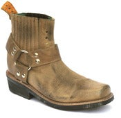 Image of No.0037 TOLTECA ankle harness boot Honey