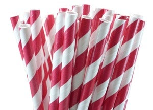 Image of Paper Straws (darks)