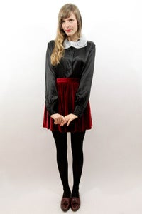 Image of oreo cookie blouse