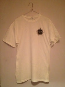 Image of Ornate Pocket Logo T-shirt - White