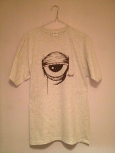 Image of Left Eye T-Shirt - Ash Grey