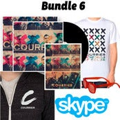Image of Bundle 6: Cathedrals of Color CD + Shirt + Poster + Sunglasses + Hoodie + Vinyl + Skype performance