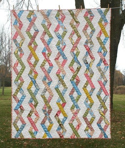 Image of Chain Reaction Quilt Pattern