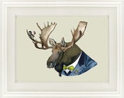 Image of Moose Print by Ryan Berkley