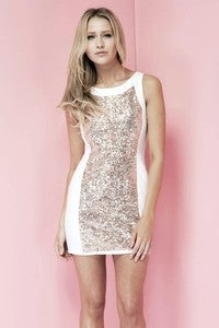 Image of FOOL IN LOVE DRESS GOLD by KEEPSAKE