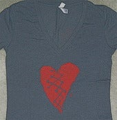Image of Blackbox-Heart Girlie Bella T-Shirt