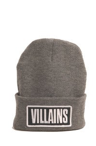 Image of VILLAINS BEANIE GRAY