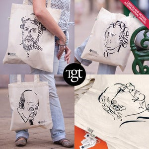Image of The great typographers  Tote bag series