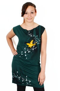 Image of Birds of a Feather Tee Dress