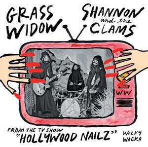 Image of GRASS WIDOW / SHANNON &amp; THE CLAMS Split 7&quot; (WW-004) 