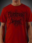 Image of Blood Red Plutonian Shore Logo Shirt