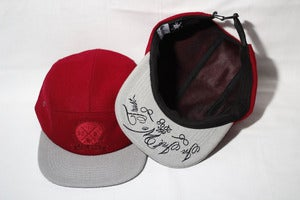 Image of Burgundy tonal 5 panel