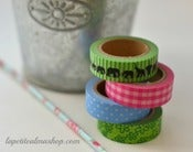 "Image of Set de 4 washi tape ""Elephant"""