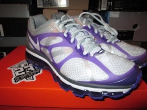 Image of Air Max+ 2012 WMNS &quot;Platinum/White-Grey&quot;