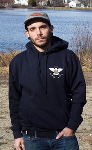 Image of Troop 55 Pullover Navy UNISEX