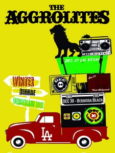Image of The Aggrolites- Winter Reggae Wonderland Poster