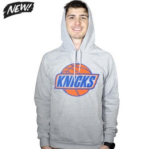 Image of Heather Grey Knicks Hoodie (UNISEX)