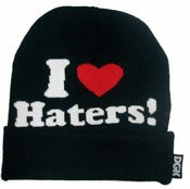 "Image of NEW! DGK ""I Love Haters"" Beanie Collection"