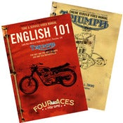 Image of English 101 DVD &amp; Triumph 650 Rebuild DVD - 2 DVD Set