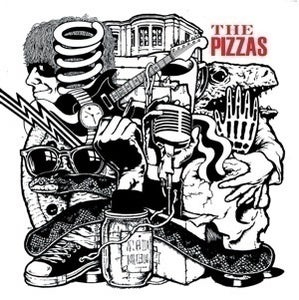 "Image of The Pizzas - Bad Ass Youth 7""  SOLD OUT"