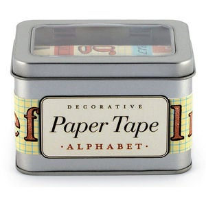 Image of Kit Washi Tape Alphabet
