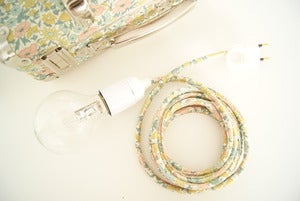 Image of *NOUVELLE FINITION* Lampe baladeuse EXCLUSIVE Liberty of London ! avec ou sans interrupteur