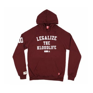 Kloud Legalize Hoody Bordeaux