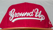 Image of Ground Up Snapback (RED/WHITE)