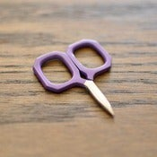 Image of Kelmscott Designs : Little Gems Purple Scissors
