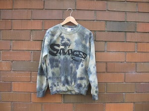 Image of City of Savages Tie Dye (Camo) Crewneck