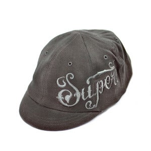 Image of Superb Fall Embroidered 6 Panel Cap, Grey