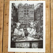 Image of The Chemist A3 print