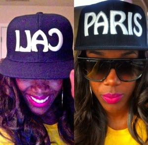 Image of Cali & Paris Black Snapback