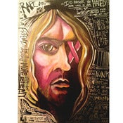 Image of SMELLS LIKE TEEN SPIRIT Original Painting